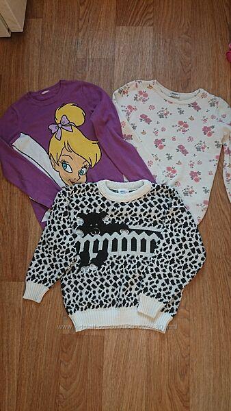 Свитера, кофты LC Waikiki, Disney на девочку 8-10лет.