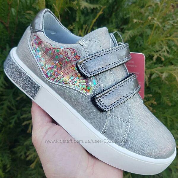Туфли слипоны кеды для девочки Tomm 28 29 30 31 32 33 размер