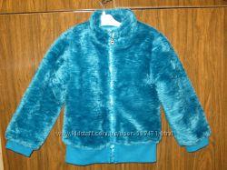 Новая яркая короткая теплая меховая шубка-курточка Chicco