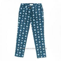 Hовыe aтласнo-сатиновые брюки Monnalisa,  серия Monnalisa Chic