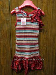 Новое трикотажное платье Clayeux, Франция,  на 6 лет 114 см