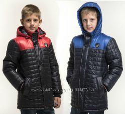 Куртки демисезонные для мальчиков.