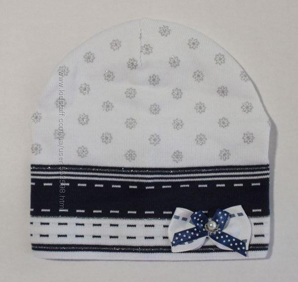 Весняні шапки для дівчаток в наявності