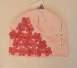 Шапочки тонкі трикотажні для дівчаток від українського виробника OLTA LAND