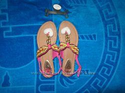 Яркие сандалии Тори Кляйн, размер 40, 26 см по стельке.