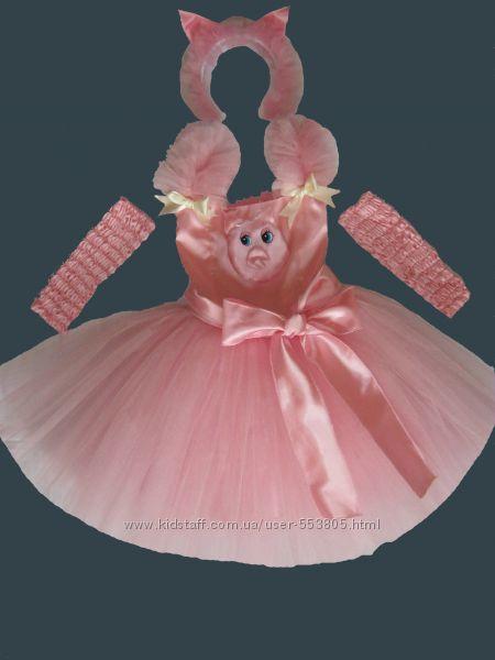Прокат костюм свинки, поросенка, р. 110-128см