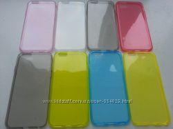 Силиконовый тонкий чехол iphone 6 6S