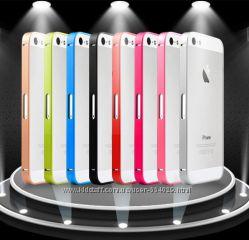 4 бампера на iPhone5 5S из металла