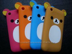 Силиконовые чехлы-мишки для Iphone 33S