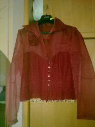 Продается эксклюзивная очень нарядная блузка 48-50рр