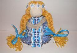 Кукла-оберег На счастье. Кукла-мотанка 10 см