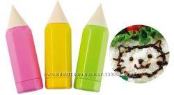 Сделай еду веселее - маркеры для рисования соусами
