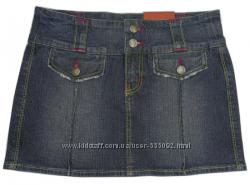 Мини-юбка джинсовая, новая, Англия, размер XS, СУПЕРцена