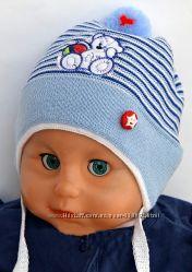 Шапочки для малышей новые, ХЛОПОК. Забавные, хорошее качество и цена