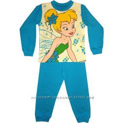 Качественные пижамы для девочек с красивыми рисунками, в наличии