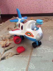 Самолет со звуками, пилотом и пассажиром  Happyland от Mohercare