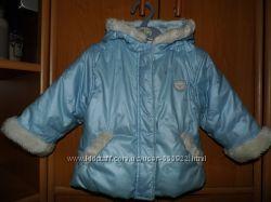курточка на синтепоне осень-весна рост 74-80