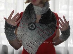 шарфики ручной работы