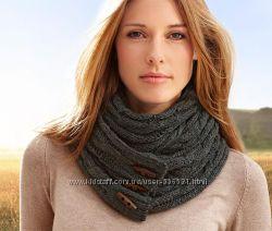 Теплые шарфы, шарф-труба Tchibo
