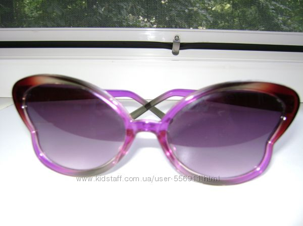 Солнечные очки-бабочка