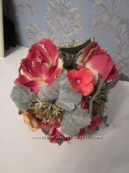Цветочный шарик для декора