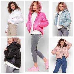 Женская молодежная демисезонная куртка 8889 тм X-Woyz. Размеры 42- 48