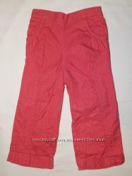 Розовые брючки Next с подкладкой. На девочку 1,5-2 года.