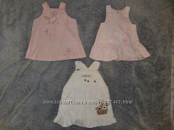 Летние платья, сарафаны на девочку от 0 до 2-х лет. В ассортименте.