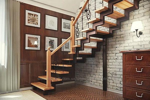 Изготовление межэтажных лестниц из металла