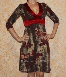 Теплое. Очень красивое платье для зимы