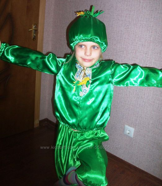 Костюм Огурца купить  Карнавальные костюмы