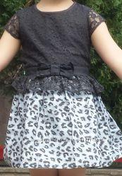 платье, NEXT , нарядное , 4-5лет , 104-110см, как новое
