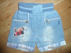Шорты джинсовые на мальчика 1-2года