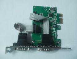 Контроллер PCIE - RS232  2 port COM