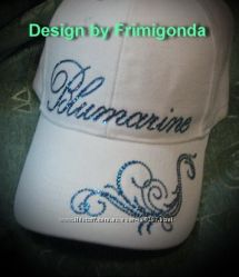 Стильные кепки копия бренд люкс со стразами Swarovski
