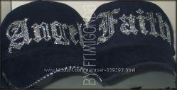 Стильные кепки Angel со стразами Swarovski. Цвет кепки на выбор