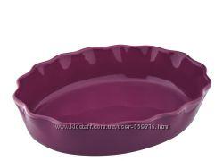 Формы керамические для выпечки и запекания лилового цвета