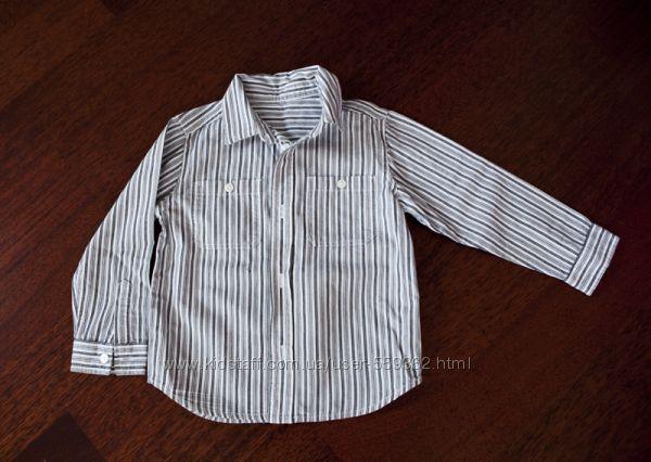 Mothercare рубашка для мальчика