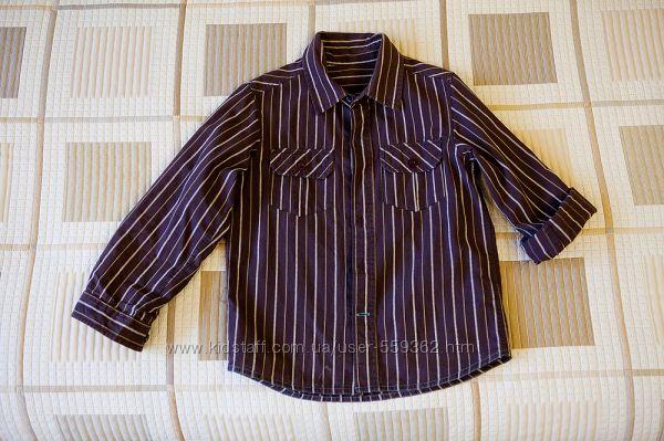 Рубашка для мальчика, фирма Mothercare