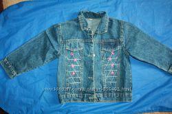 Джинсовый пиджачок на ребенка 4 -5лет
