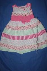 Милые очаровательные фирменные платья на девочку от года до трех лет