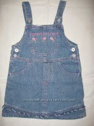Платье, джинсовые сарафаны р--74--104на принцес от 6мес до 3, 5 лет