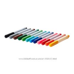 В наличии Фломастеры, краски, бумага, кисти, ножницы ИКЕА в наличии