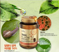 Сыворотка улиточная SCINIC Snail All in One Ampoule 250ml