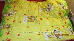 Детское тёплое одеяло с 2-мя пододеяльниками