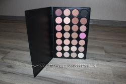 Палитра теней 28 цветов тени для макияжа
