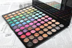 Палитра теней 88 цветов полноцветные матовые и шимерные