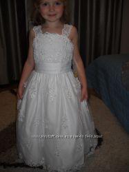 Плаття нарядне  для принцеси на  7 років із США
