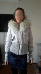 Пуховик куртка короткая