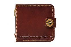 Оригинальный подарок для мужчины - кожаный кошелек ручной работы.